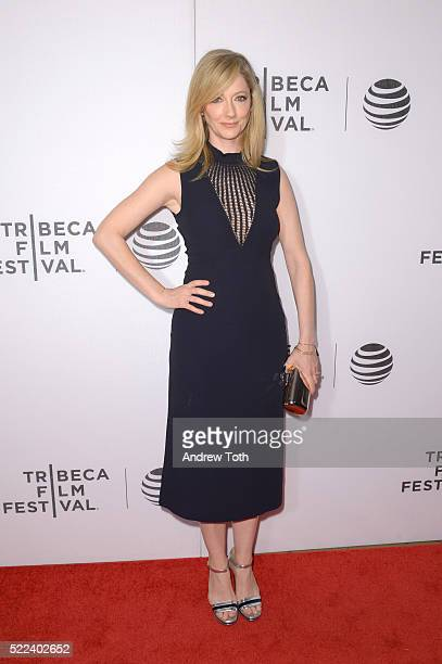 Actress Judy Greer attends the Elvis Nixon premiere during the 2016 Tribeca Film Festival at John Zuccotti Theater at BMCC Tribeca Performing Arts...