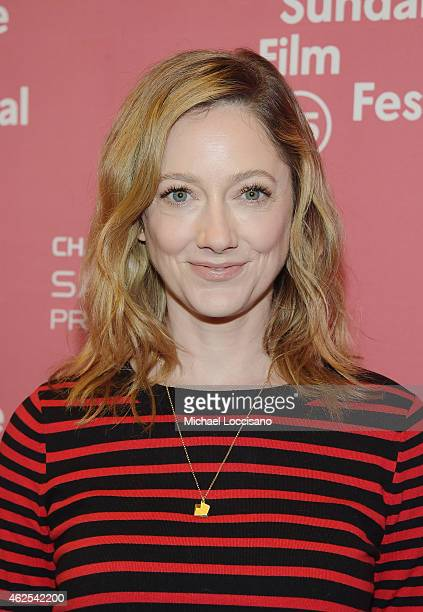 Actress Judy Greer attends the Grandma premiere during the 2015 Sundance Film Festival on January 30 2015 in Park City Utah