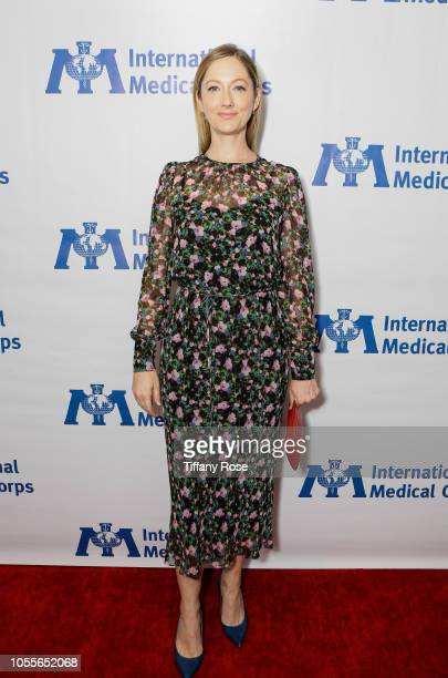Actress Judy Greer attends the International Medical Corps Annual Awards Celebration on October 30 2018 in Beverly Hills California