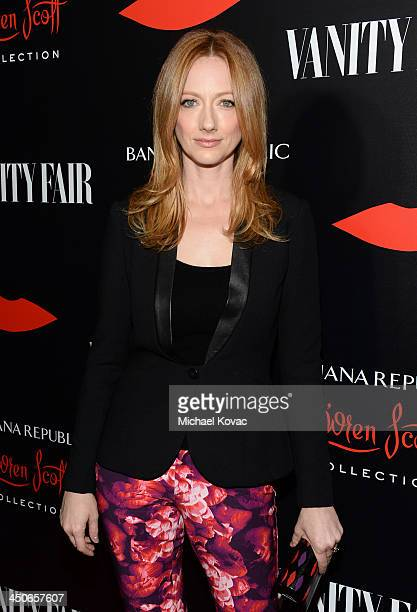 Actress Judy Greer attends the launch celebration of the Banana Republic L'Wren Scott Collection hosted by Banana Republic L'Wren Scott and Krista...