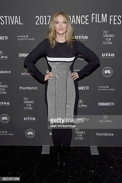 Actress Judy Greer attends the 'Lemon' Premiere on day 4 of the 2017 Sundance Film Festival at Library Center Theater on January 22 2017 in Park City...