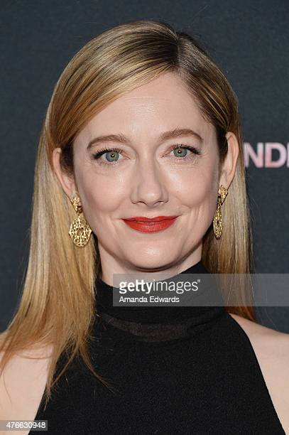 Actress Judy Greer attends the opening night premiere of Grandma during the 2015 Los Angeles Film Festival at Regal Cinemas LA Live on June 10 2015...