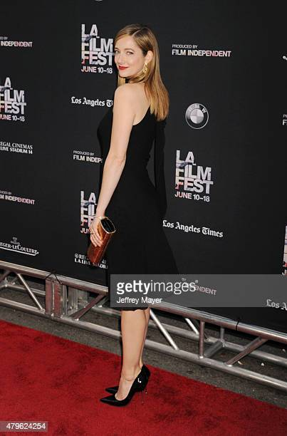 Actress Judy Greer attends the opening night premiere of 'Grandma' during the 2015 Los Angeles Film Festival at Regal Cinemas L.A. Live on June 10,...