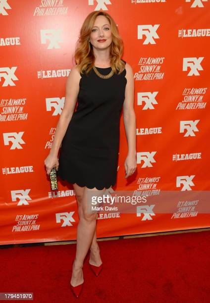 Actress Judy Greer attends the premiere and launch party for FXX Network's It's Always Sunny In Philadelphia and The League at Lure on September 3...