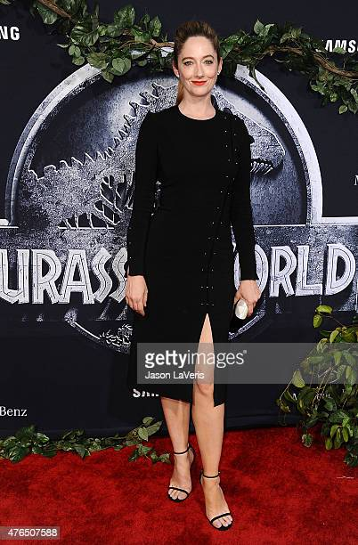 Actress Judy Greer attends the premiere of Jurassic World at Dolby Theatre on June 9 2015 in Hollywood California