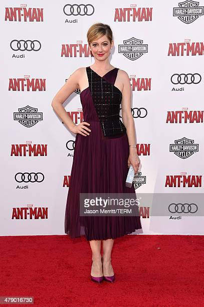 Actress Judy Greer attends the premiere of Marvel's AntMan at the Dolby Theatre on June 29 2015 in Hollywood California