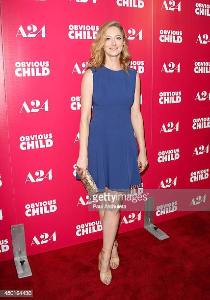 Actress Judy Greer attends the screening of Obvious Child at ArcLight Hollywood on June 5 2014 in Hollywood California