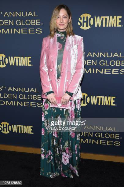 Actress Judy Greer attends the Showtime Golden Globe Nominee Celebration in Los Angeles California on January 5 2019