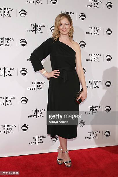 Actress Judy Greer attends the Tribeca Film Festival Awards during 2016 Tribeca Film Festival at 42 W NY on April 21 2016 in New York City