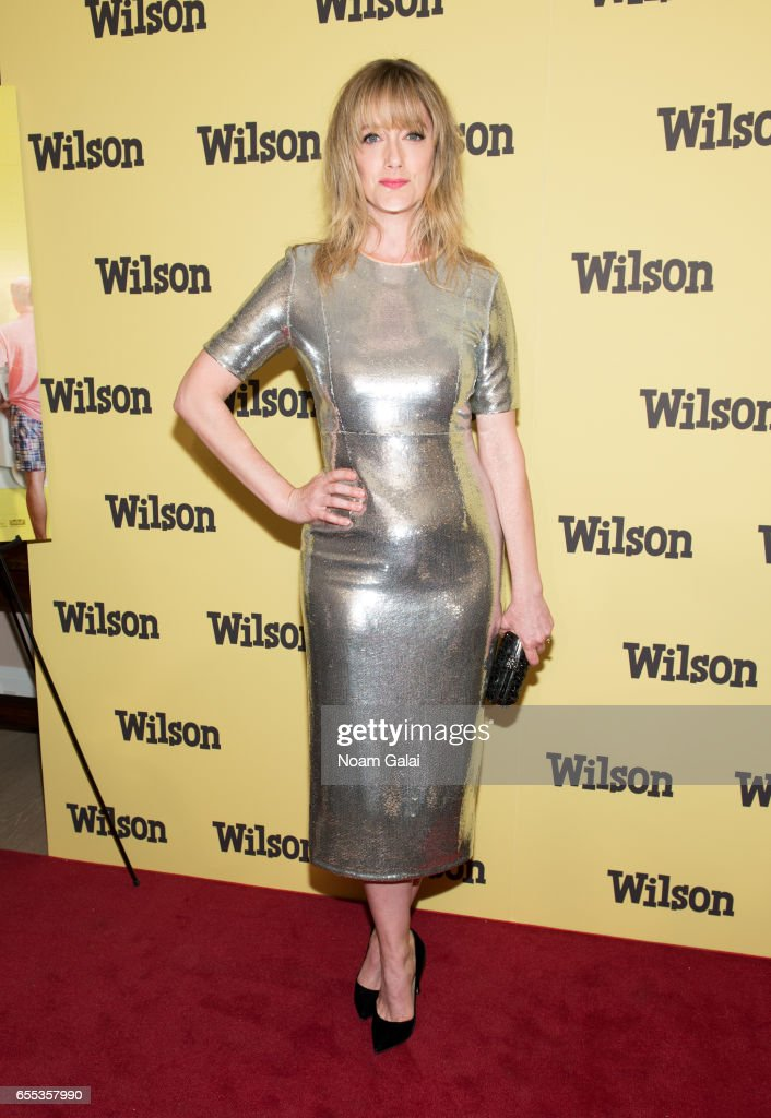 Actress Judy Greer attends the 'Wilson' New York screening at the Whitby Hotel on March 19, 2017 in New York City.
