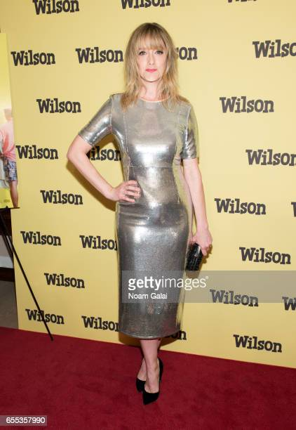 Actress Judy Greer attends the 'Wilson' New York screening at the Whitby Hotel on March 19 2017 in New York City