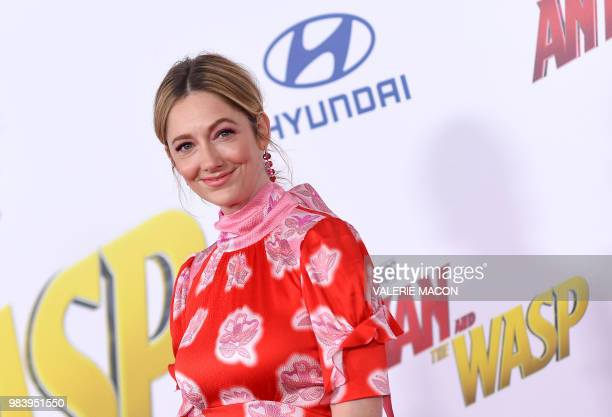 Actress Judy Greer attends the World Premiere of Marvel Studios' AntMan and The Wasp at the El Capitan Theater on June 25 in Hollywood California