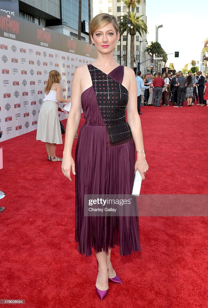 Actress Judy Greer attends the world premiere of Marvel's 'Ant-Man' at The Dolby Theatre on June 29, 2015 in Los Angeles, California.