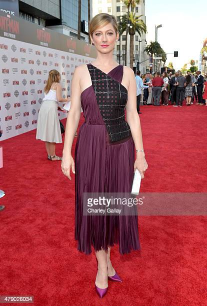 Actress Judy Greer attends the world premiere of Marvel's AntMan at The Dolby Theatre on June 29 2015 in Los Angeles California