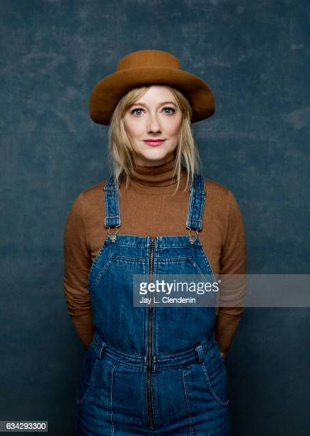 Actress Judy Greer from the film Wilson is photographed at the 2017 Sundance Film Festival for Los Angeles Times on January 23 2017 in Park City Utah...