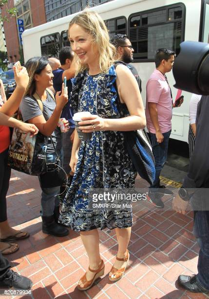 Actress Judy Greer is seen on July 21 2017 at Comic Con in San Diego California