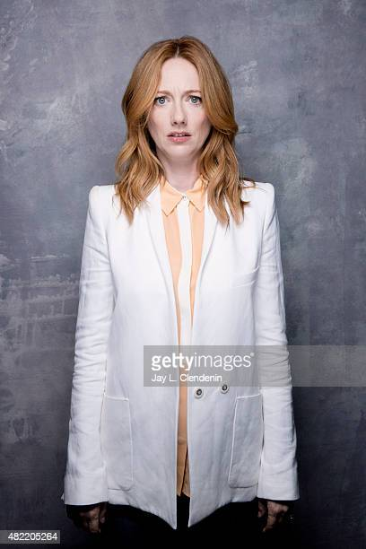 Actress Judy Greer of 'Archer' poses for a portrait at ComicCon International 2015 for Los Angeles Times on July 9 2015 in San Diego California...