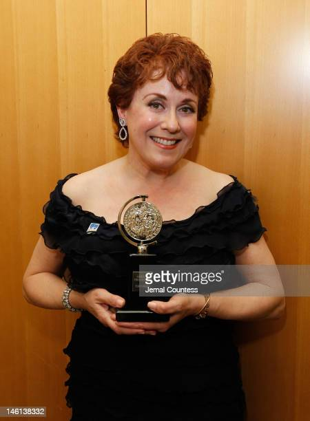 Actress Judy Kaye poses in the 66th Annual Tony Awards press room at The Beacon Theatre on June 10 2012 in New York City