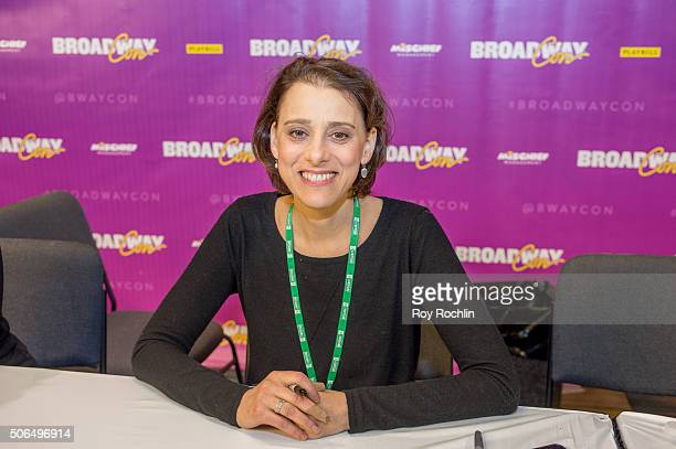 Actress Judy Kuhn attends BroadwayCon 2016 at the New York Hilton Midtown on January 23, 2016 in New York City.