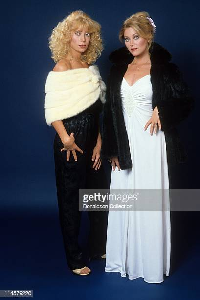 Actress Judy Landers and Actress Audrey Landers pose for a portrait in circa 1985 in Los Angeles California