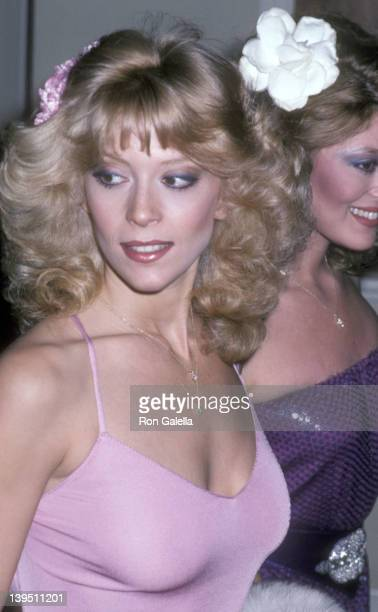 Actress Judy Landers attends the 38th Annual Golden Globe Awards on January 31 1981 at Beverly Hilton Hotel in Beverly Hills California