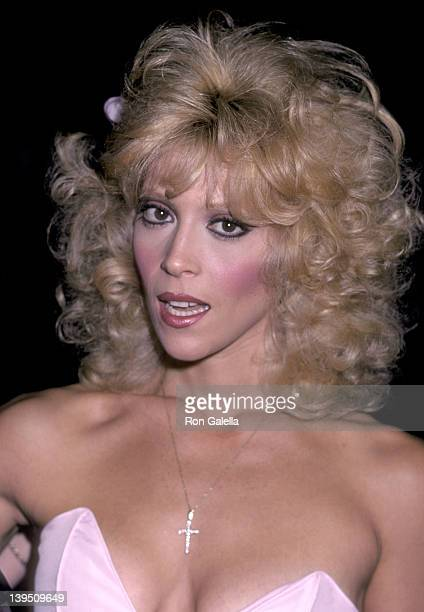 Actress Judy Landers attends the Variety Magazine Party on October 25 1983 at the Hollywood Bowl's parking lot in Hollywood California