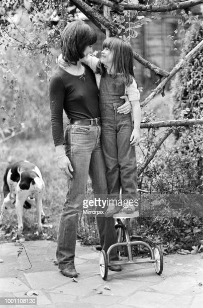 Actress Judy Loe with her daughter Katie Beckinsale 5th October 1979