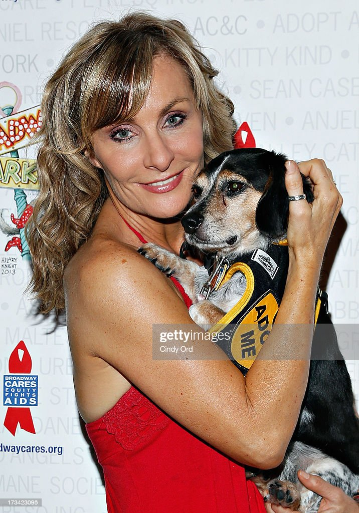 Actress Judy McLane attends the Broadway Barks 15th Animal Adoption Event at Shubert Alley on July 13, 2013 in New York City.