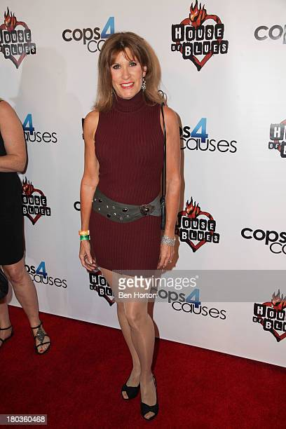Actress Judy Norton attends the Cops 4 Causes 2nd annual Heroes Helping Heroes benefit concert at House of Blues Sunset Strip on September 11 2013 in...