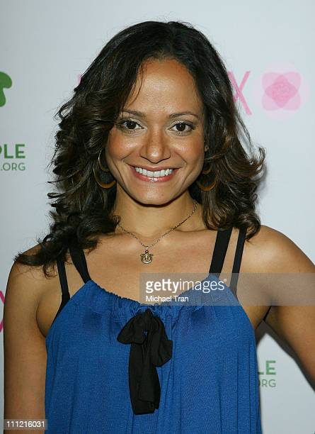 Actress Judy Reyes arrives at the Intermix Boutique store opening at the Intermix Boutique store on September 25 2007 in West Hollywood California