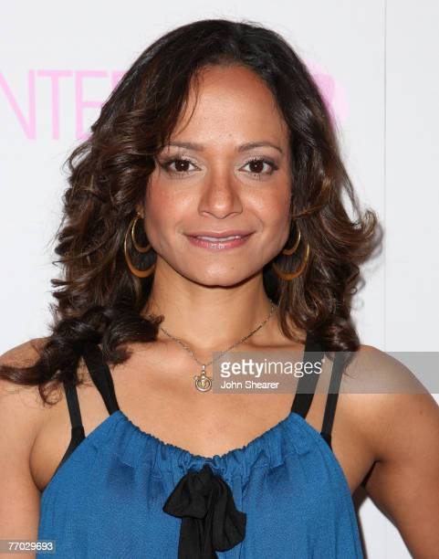 Actress Judy Reyes arrives at the opening of the Intermix store on Robertson Boulevard on September 25 2007 in Los Angeles California