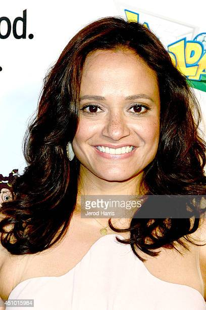 Actress Judy Reyes arrives at the premiere of 'LA GOLDA' at The Crest on June 21 2014 in Los Angeles California