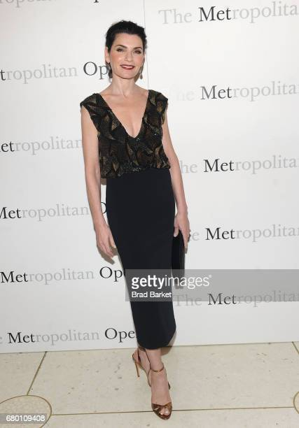 Actress Juiana Margulies attends The Metropolitan Opera 50th Anniversary Gala at The Metropolitan Opera House on May 7 2017 in New York City