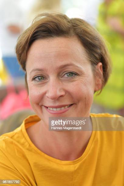 Actress Jule Ronstedt attends the 'Sommerfest der Agenturen' during Munich Film Festival 2018 at Hugo's on June 30 2018 in Munich Germany