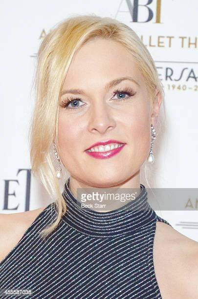 Actress Julia Alexander arrives at American Ballet Theatre's Annual Stars Under The Stars An Evening In Los Angeles on September 16 2014 in Beverly...