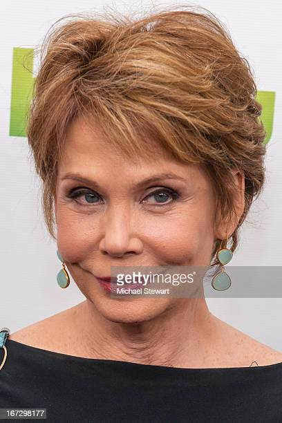 """Actress Julia Barr attends the """"All My Children"""" & """"One Life To Live"""" premiere at Jack H. Skirball Center for the Performing Arts on April 23, 2013..."""