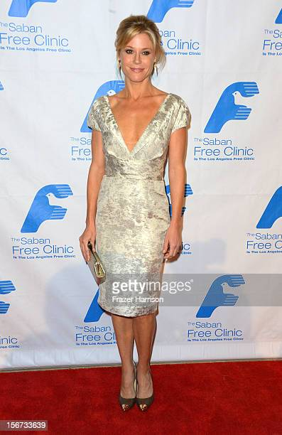 Actress Julia Bowen arrives at The Saban Free Clinic's Gala Honoring ABC Entertainment Group President Paul Lee and Bob Broder at The Beverly Hilton...