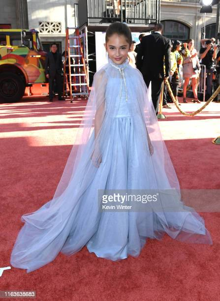 """Actress Julia Butters attends the Sony Pictures' """"Once Upon A Time...In Hollywood"""" Los Angeles Premiere on July 22, 2019 in Hollywood, California."""