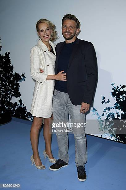 Actress Julia Dorval and Actor Aliocha Itovich attends the 'La Main du Mal' Photocall during the 18th Festival of TV Fiction on September 15, 2016 in...