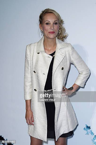 Actress Julia Dorval attends the 'La Main du Mal' Photocall during the 18th Festival of TV Fiction on September 15, 2016 in La Rochelle, France.