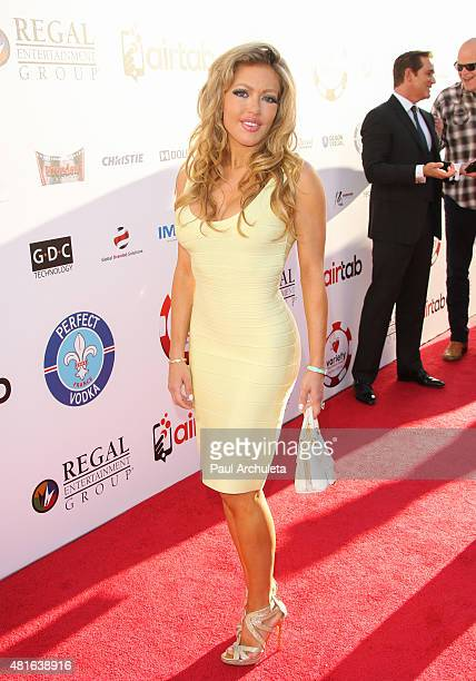 Actress Julia Faye West attends the 5th Annual Variety Texas Hold 'Em poker tournament benefiting The Children's Charity Of SoCal at Paramount...