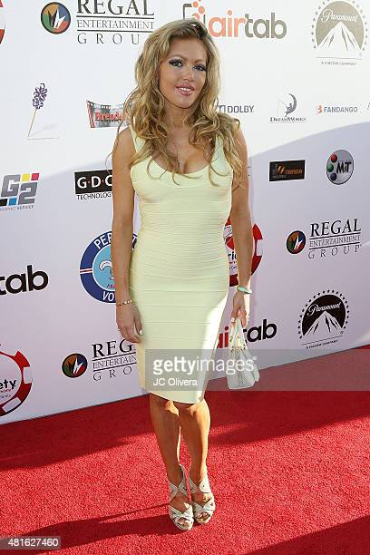 Actress Julia Faye West attends The 5th Annual Variety 'The Children's Charity of SoCal Texas Hold 'Em Poker Tournament' at Paramount Studios on July...