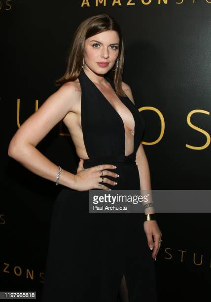 Actress Julia Fox attends Amazon Studios Golden Globes after party at The Beverly Hilton Hotel on January 05 2020 in Beverly Hills California