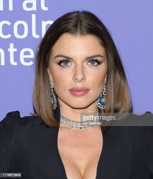 Actress Julia Fox attends the Uncut Gems premiere during the 57th New York Film Festival at Alice Tully Hall Lincoln Center on October 03 2019 in New...