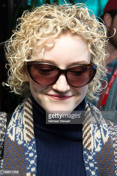 Actress Julia Garner attends Paige Hospitality Game Watch at Sky Bar on January 20 2013 in Park City Utah