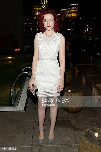Actress Julia Garner attends The Cinema Society Kate Spade and Ketel One Vodka host a Screening of Sony Pictures Classics' 'Grandma' at The Jimmy at...