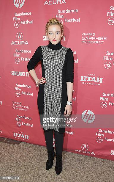 Actress Julia Garner attends the 'Grandma' premiere during the 2015 Sundance Film Festival on January 30 2015 in Park City Utah