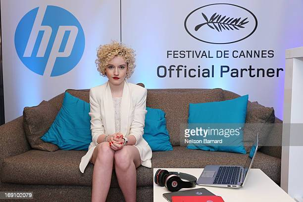 Actress Julia Garner attends the Variety Studio at Chivas House on May 20 2013 in Cannes France