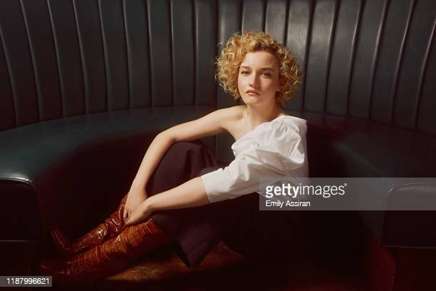Actress Julia Garner is photographed for BackStage Magazine on July 1, 2019 at Fig. 19 in New York City.