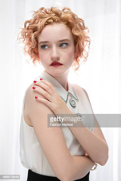 Actress Julia Garner is photographed for The Hollywood Reporter on September 5 2015 in Venice Italy
